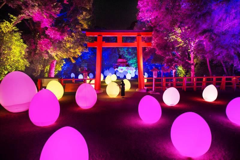 El arte digital llega a la ciudad tradicional de Kioto
