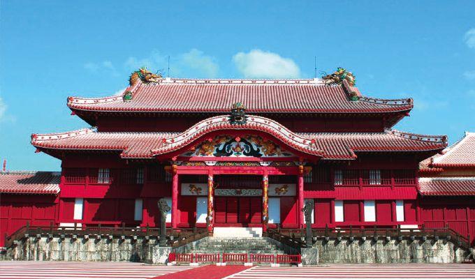 Terrible incendio en el castillo Shurijo en Okinawa