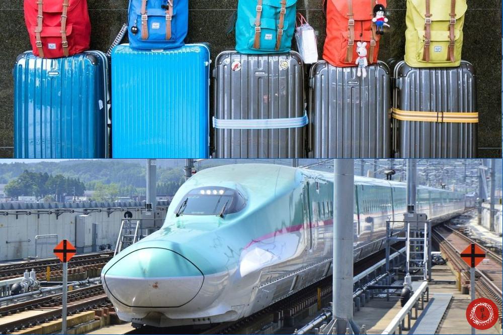 Reserva de equipaje grande para los trenes bala