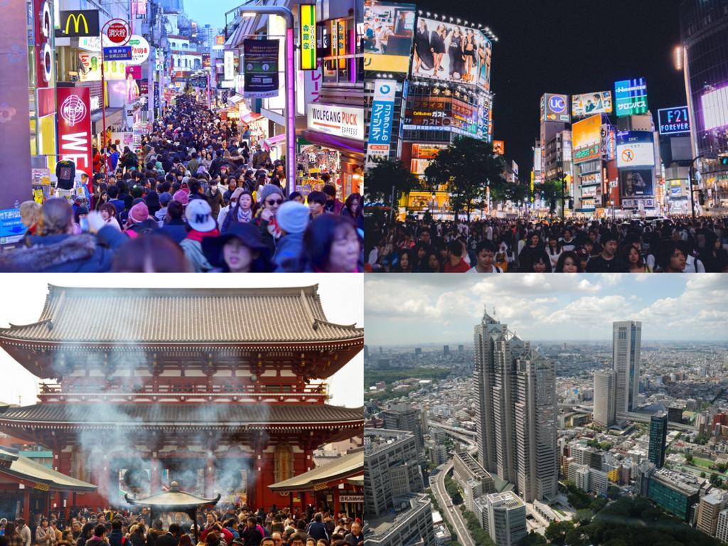 Los barrios más turísticos de Tokio en 2020