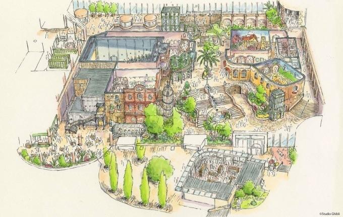 El nuevo parque temático de Studio Ghibli abrirá en 2022