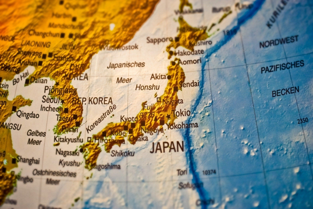 Japón: la geografía de la isla